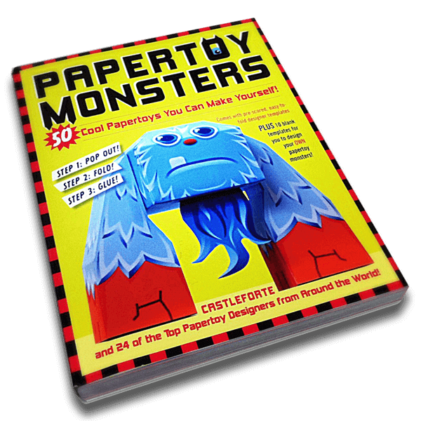 Papertoy Monsters paper craft books
