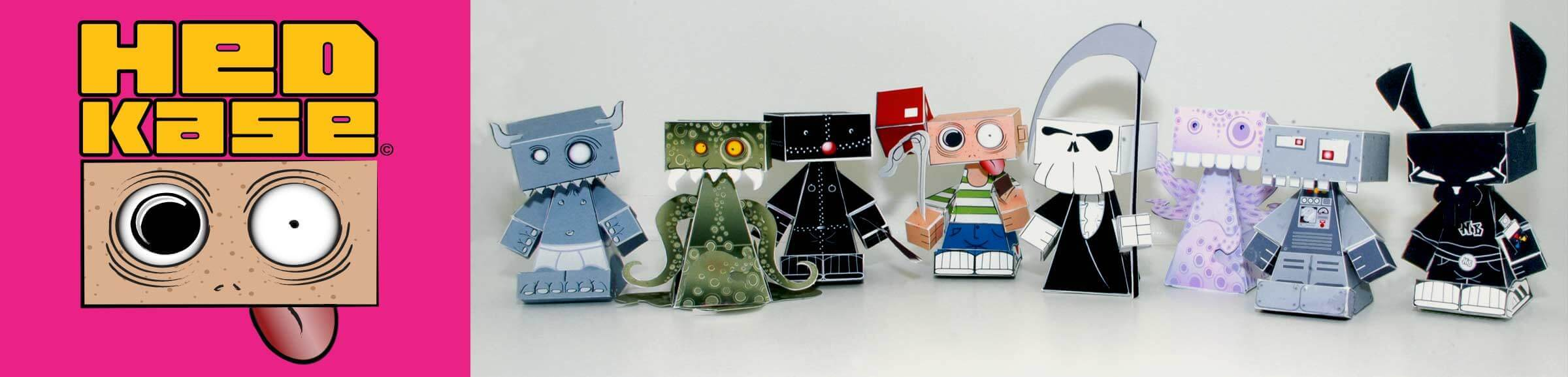 free, paper toys, characters, templates, downloads