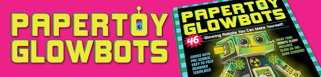 Papertoy Glowbots Book Details