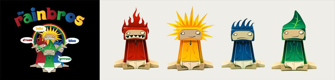 Rainbros Papertoys