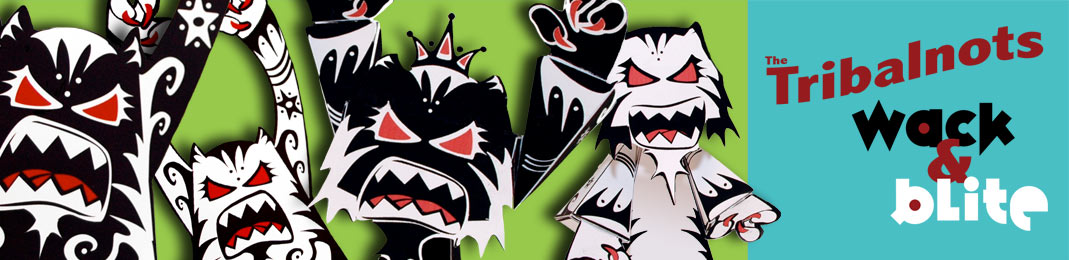 Tribalnots Paper Toys